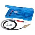 Pneumatyczna mikroszlifierka w zestawie
