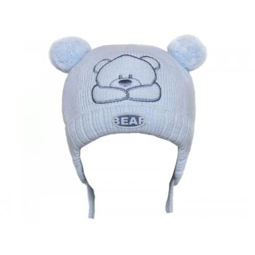 Jesienno-zimowa czapka dla dziecka