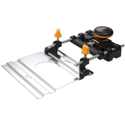 Adapter szyny prowadzącej do frezarki