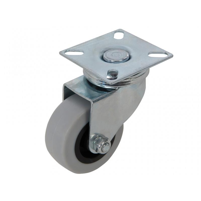Kółko skrętne gumowe 50mm do 50 kg