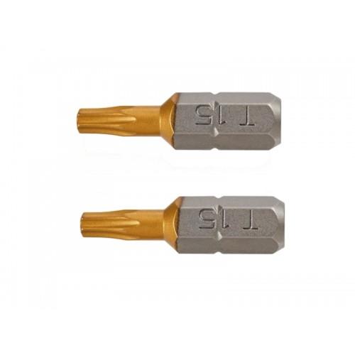 Końcówki wkrętakowe TX26x25mm 2 szt.