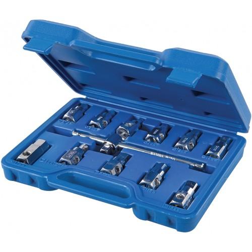 Zestaw kluczy do odkręcania korków oleju, 12 elementów
