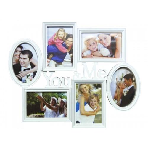 Ramka na zdjęcia, kolaż 45x37 cm YOU&ME
