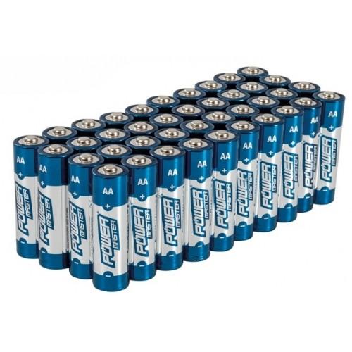 Baterie alkaliczne AA 40 sztuk