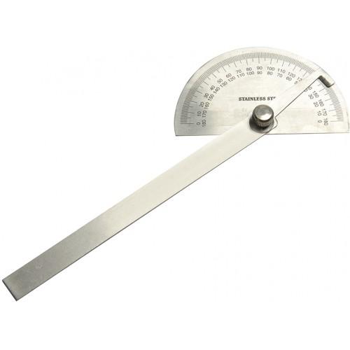 Kątomierz tarczowy półokrągły 150 mm