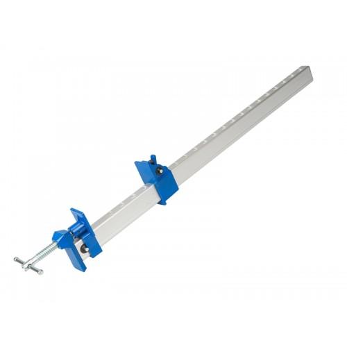 Ścisk stolarski aluminiowy typ U 600 mm