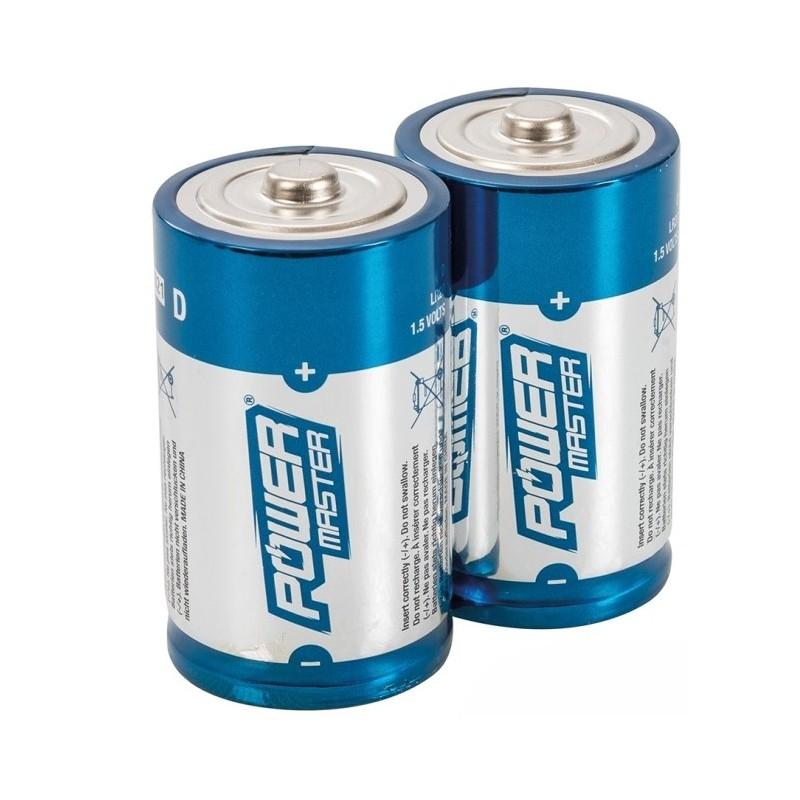 Super alkaliczne baterie D LR20 2 szt, 485322