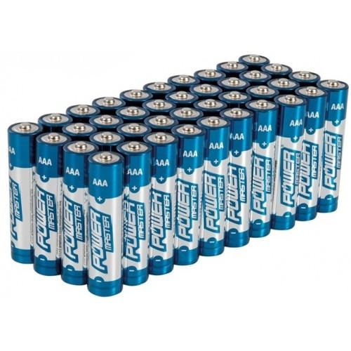 Baterie alkaliczne AAA LR03 40 sztuk