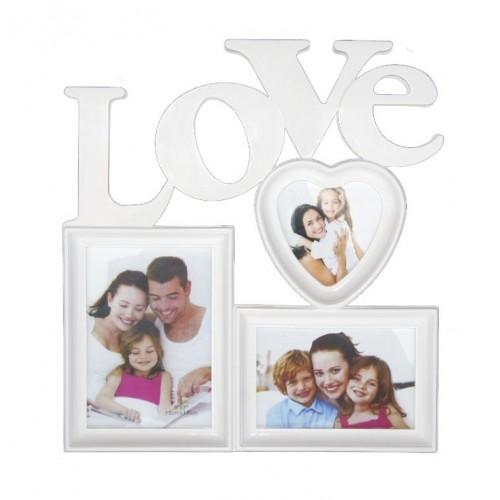 Ramka na 3 zdjęcia LOVE