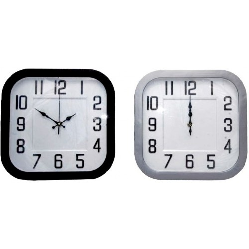Zegar ścienny kwadratowy