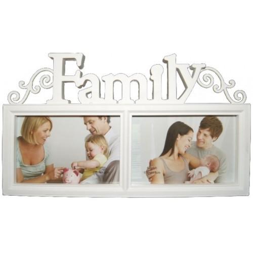 Ramka na 2 zdjęcia FAMILY