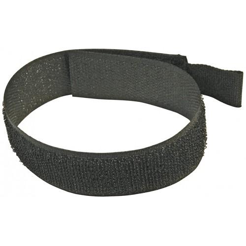 Rzepy do kabli 150mm czarne 10szt, 986306