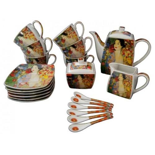 Serwis do kawy i herbaty, 21 elementów G.Klimt