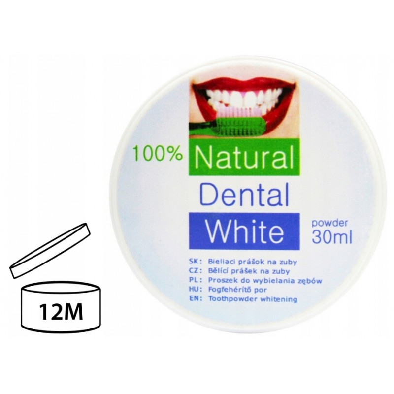 WYBIELACZ DO ZĘBÓW 100% NATURALNY 30 ml