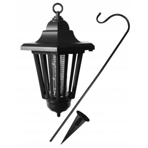 Owadobójcza lampa solarna