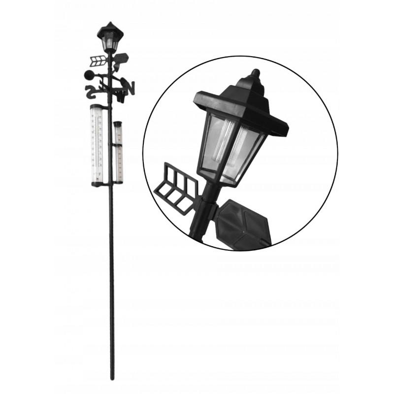 Lampa solarna stacja pogody