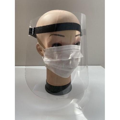 Przyłbica ochronna, ochrona twarzy