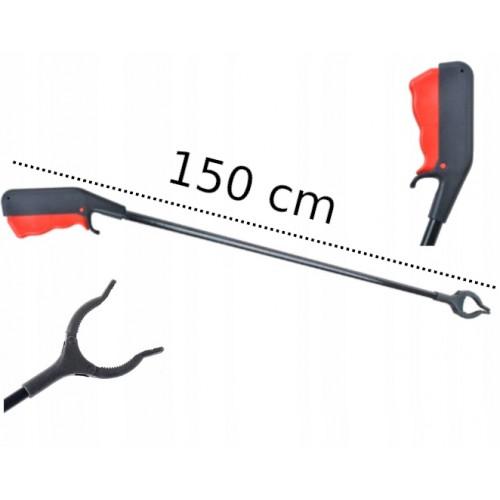 CHWYTAK DO ZBIERANIA ŚMIECI SPRZĄTANIA DŁUGI 150cm
