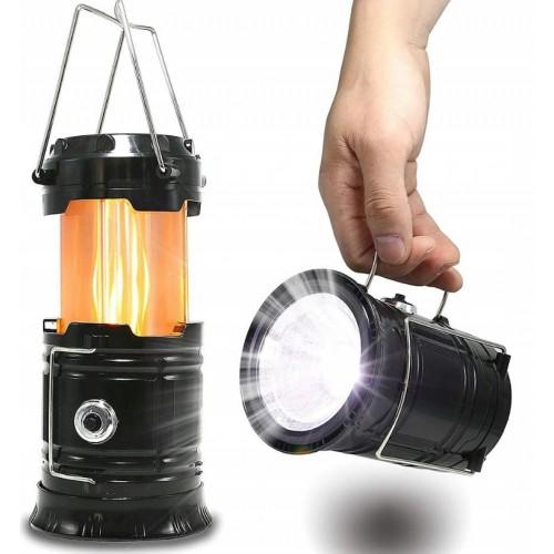 LAMPA TURYSTYCZNA AKUMULATOR KEMPINGOWA SOLAR LED
