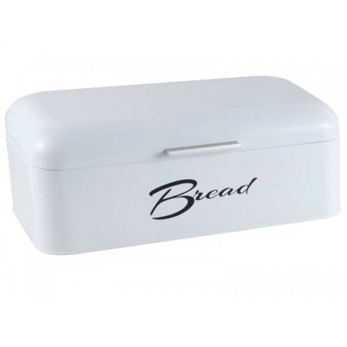 Chlebak Salvador biały połysk z napisem Bread
