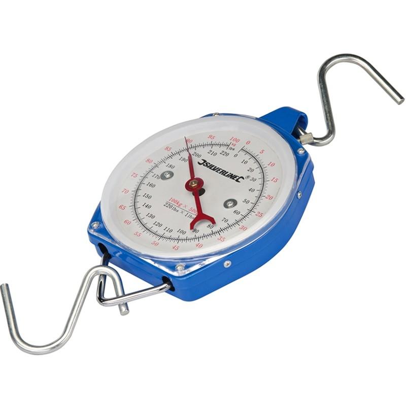 Wytrzymała waga hakowa zawieszana do 100 kg