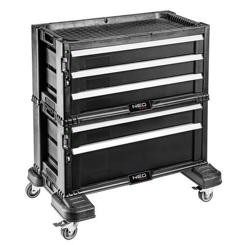 Szafka narzędziowa z 5 szufladami na kółkach