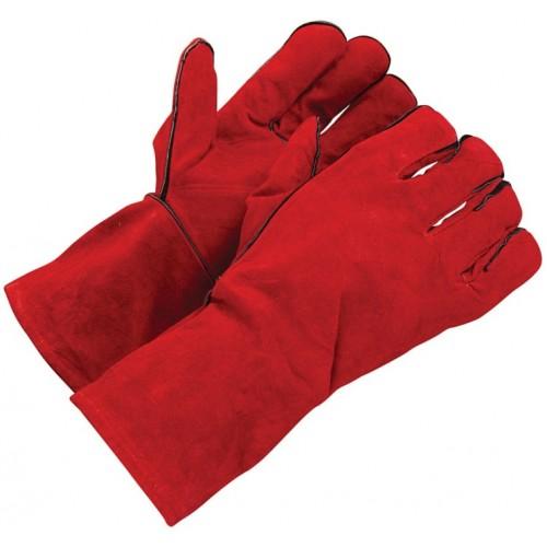 Rękawice spawalnicze skórzane