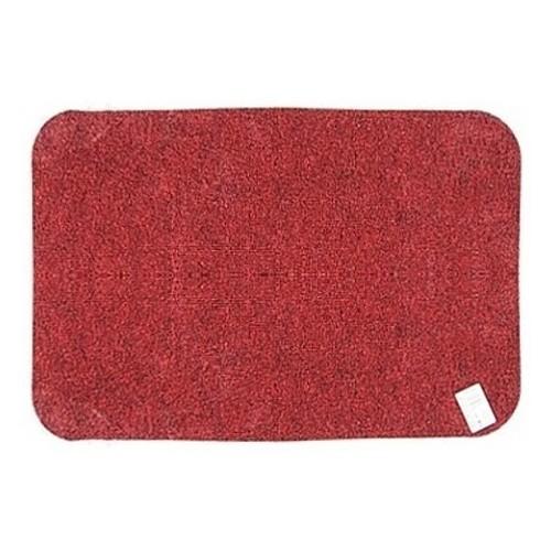 Wycieraczka podgumowana 40 x 60 cm czerwona