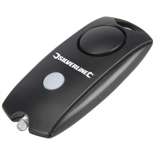 Osobisty alarm antynapadowy z latarką LED
