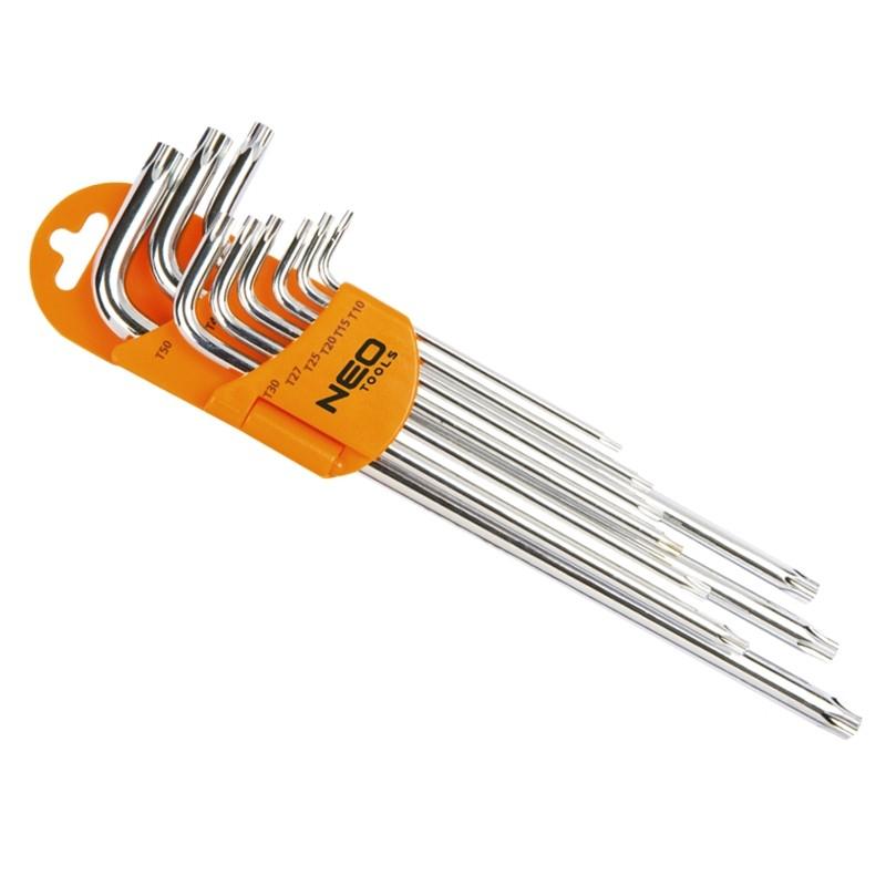 Zestaw kluczy imbusowych z magnesem
