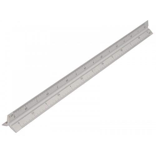 Aluminiowy liniał potrójny