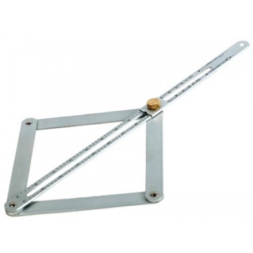 Aluminiowy kątownik nastawny