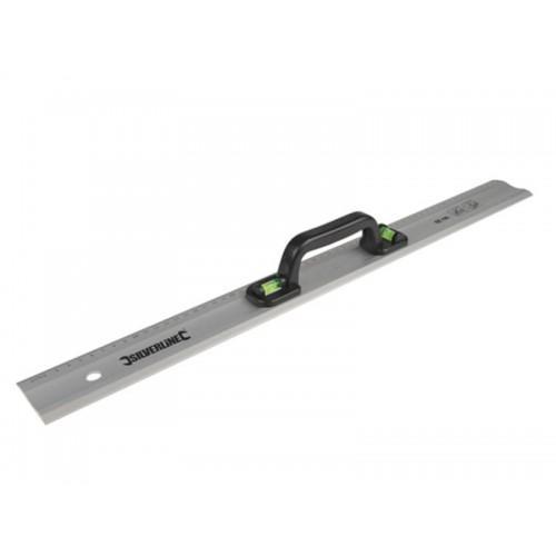 Linijka / poziomica aluminiowa z uchwytem, 90 cm