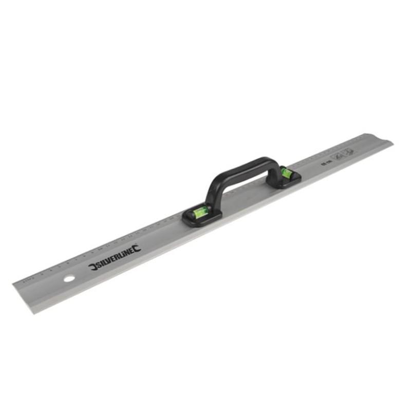 Linijka / poziomica aluminiowa z uchwytem 90 cm