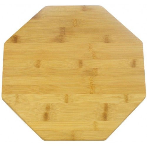 Deska bambusowa obrotowa ośmiokątna 35 cm
